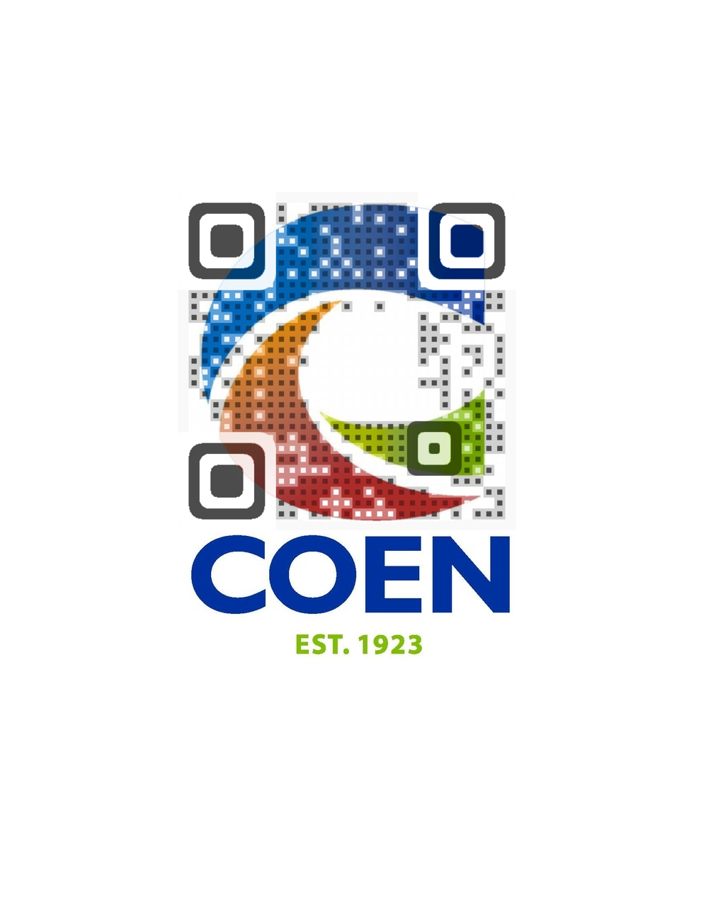 Coen Oil QR Code