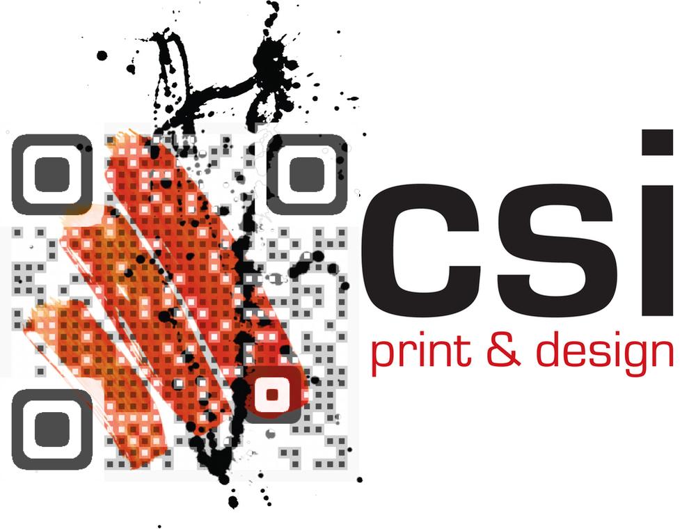 CSI Print & Design QR Code