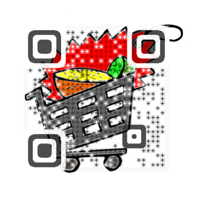 Shopping Cart QR Code