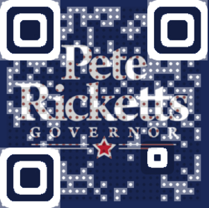 Pete Ricketts Governor QR Code