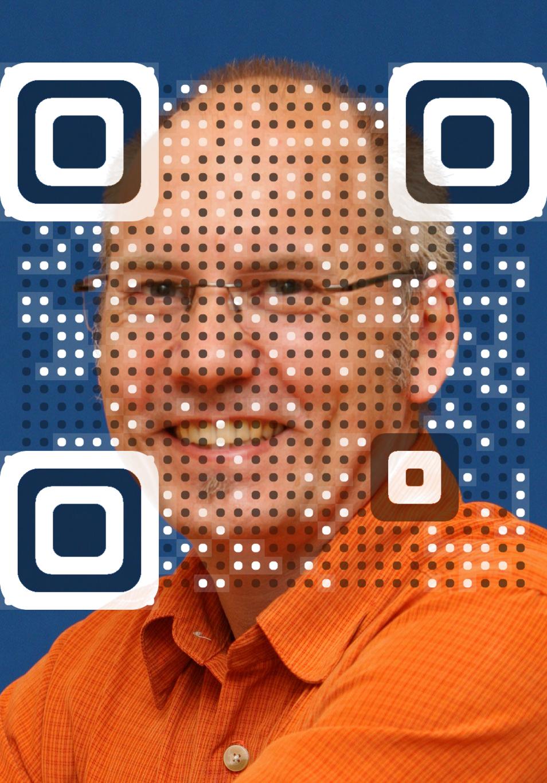 Ede Buser vCard QR Code