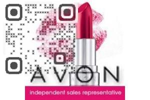 Avon Lady Christin QR Code
