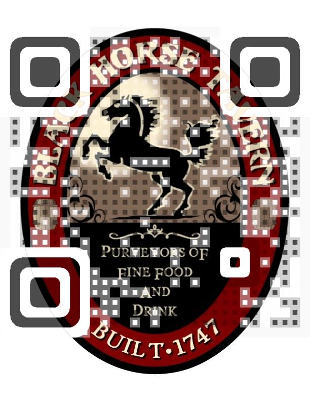 Black Horse Tavern QR Code