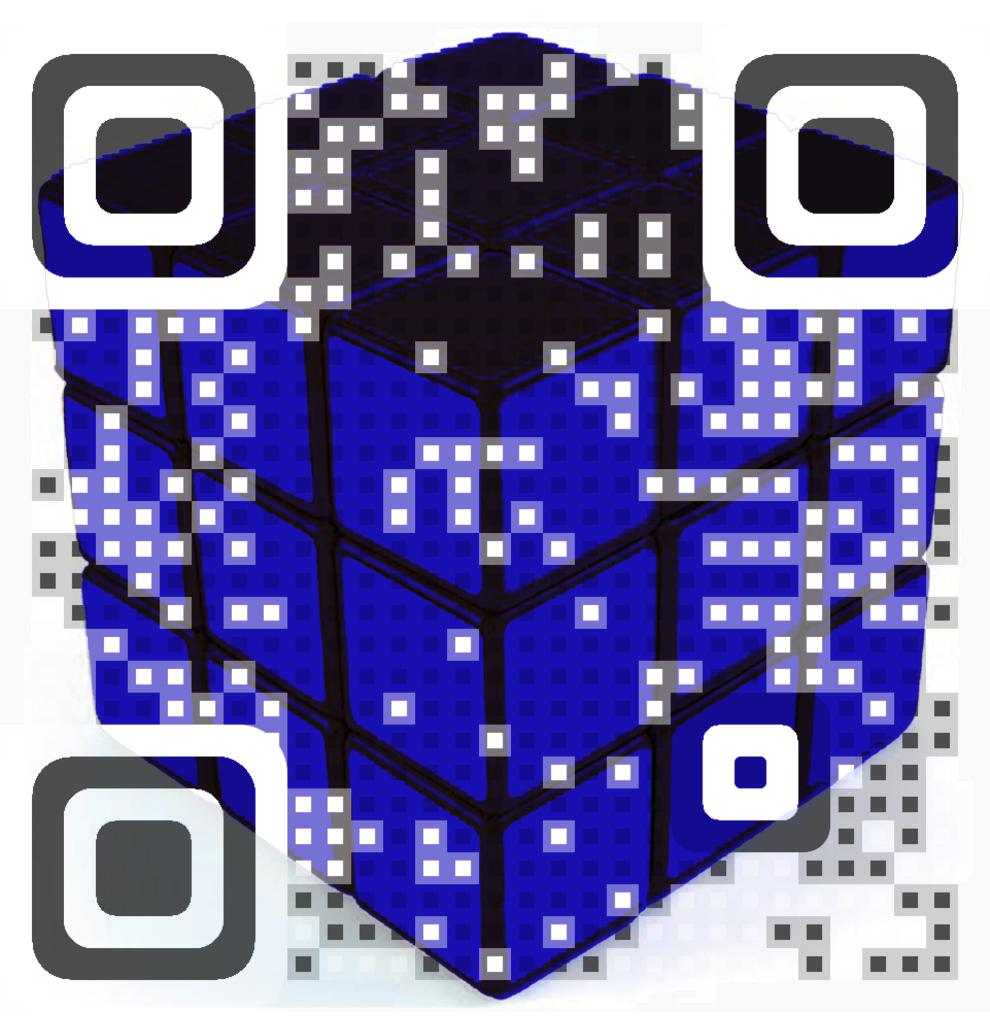 Hungarian Cube QR Code
