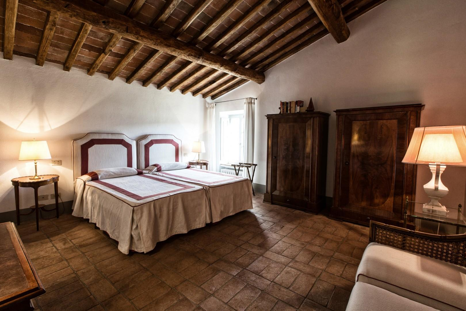 2nd Floor bedroom 6 with combinable beds.