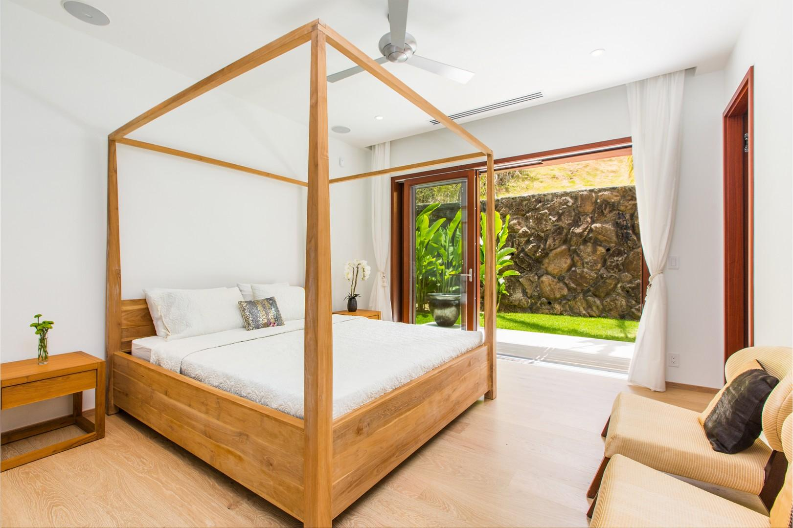 Guest Bedroom 2 with mountain views