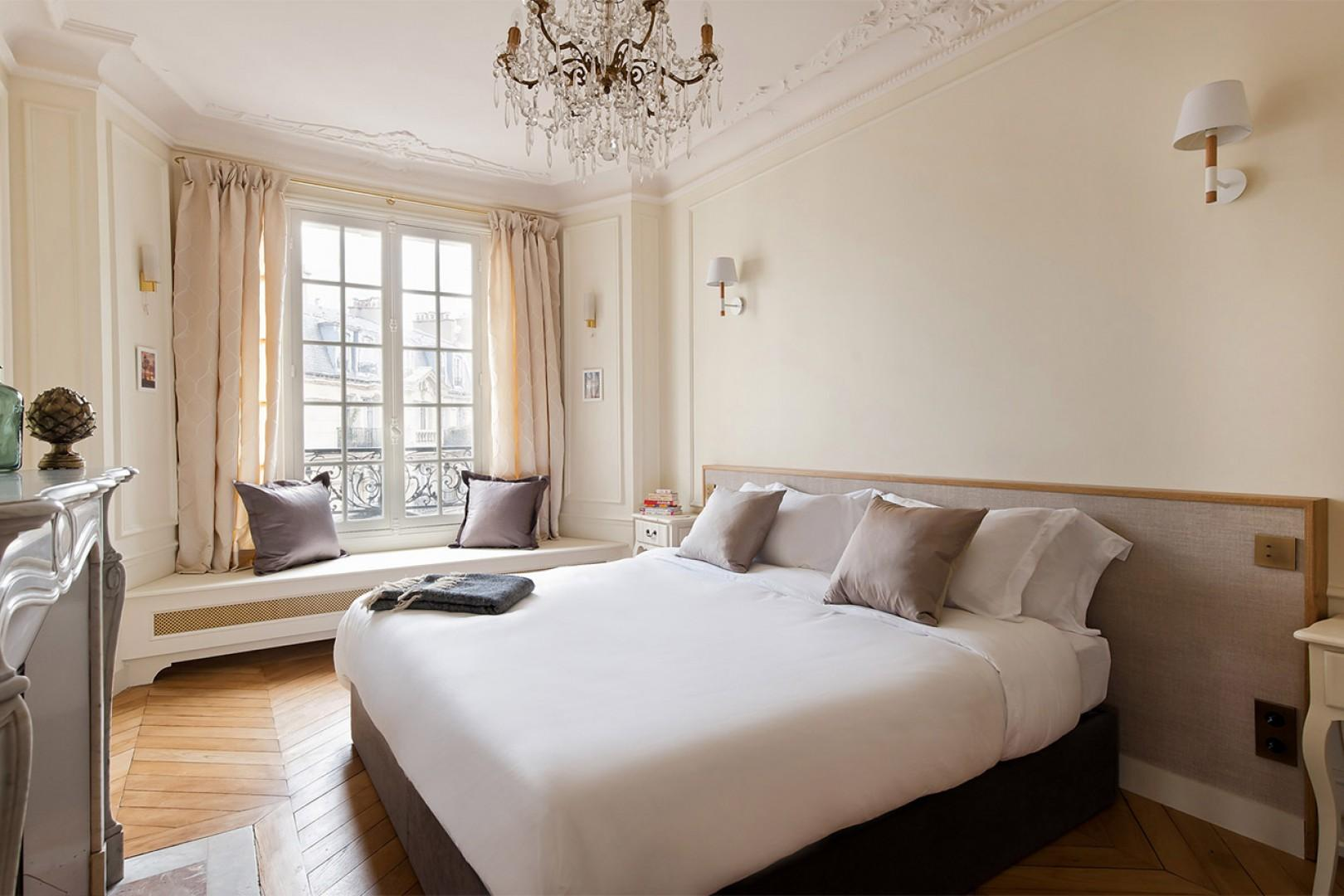 Bedroom 2 is beautifully airy.