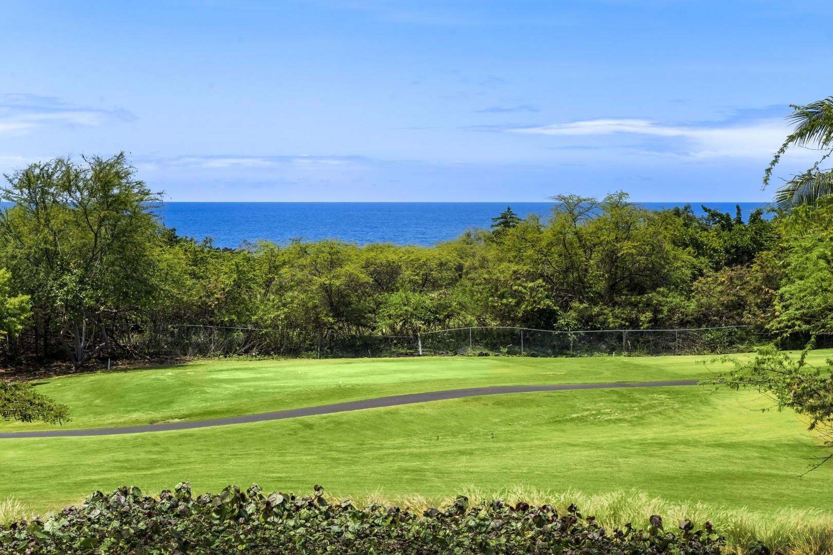 Golf Course backdrop!