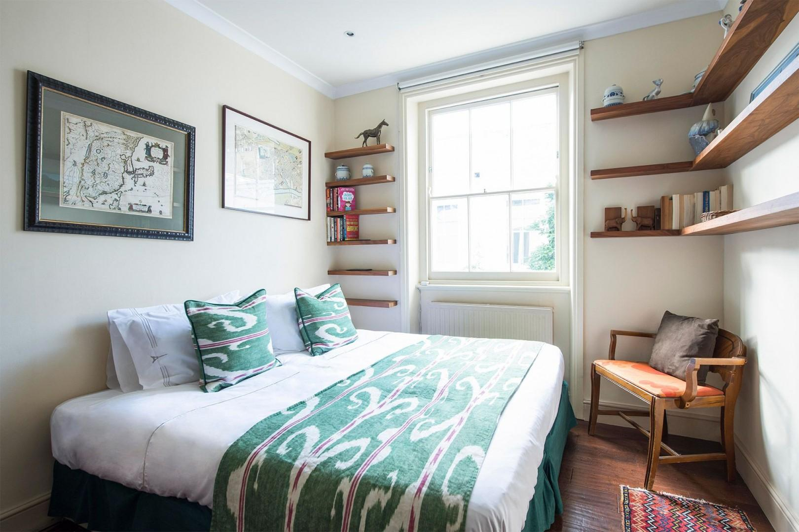 Homey touches in the second bedroom