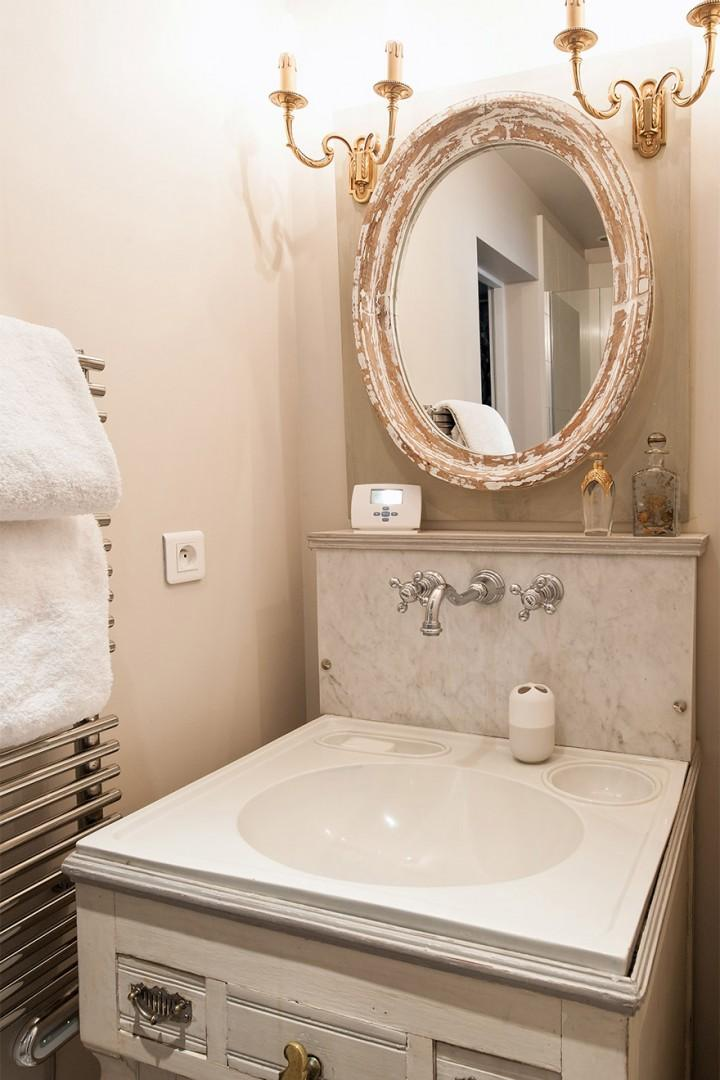 Bathroom 2 can also be accessed from the living area.