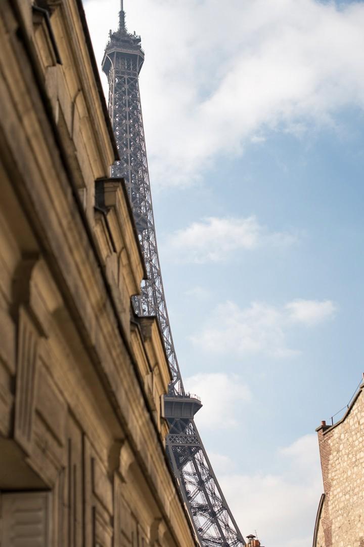 Eiffel Tower is nearby!