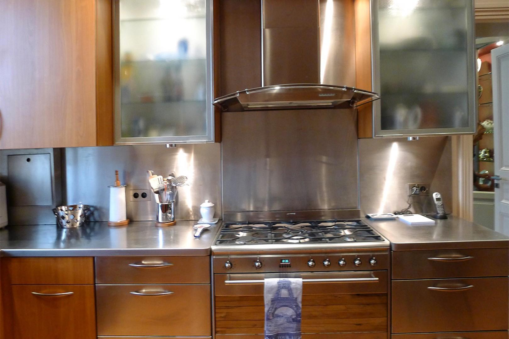 Enjoy cooking at home at this beautiful Paris rental!