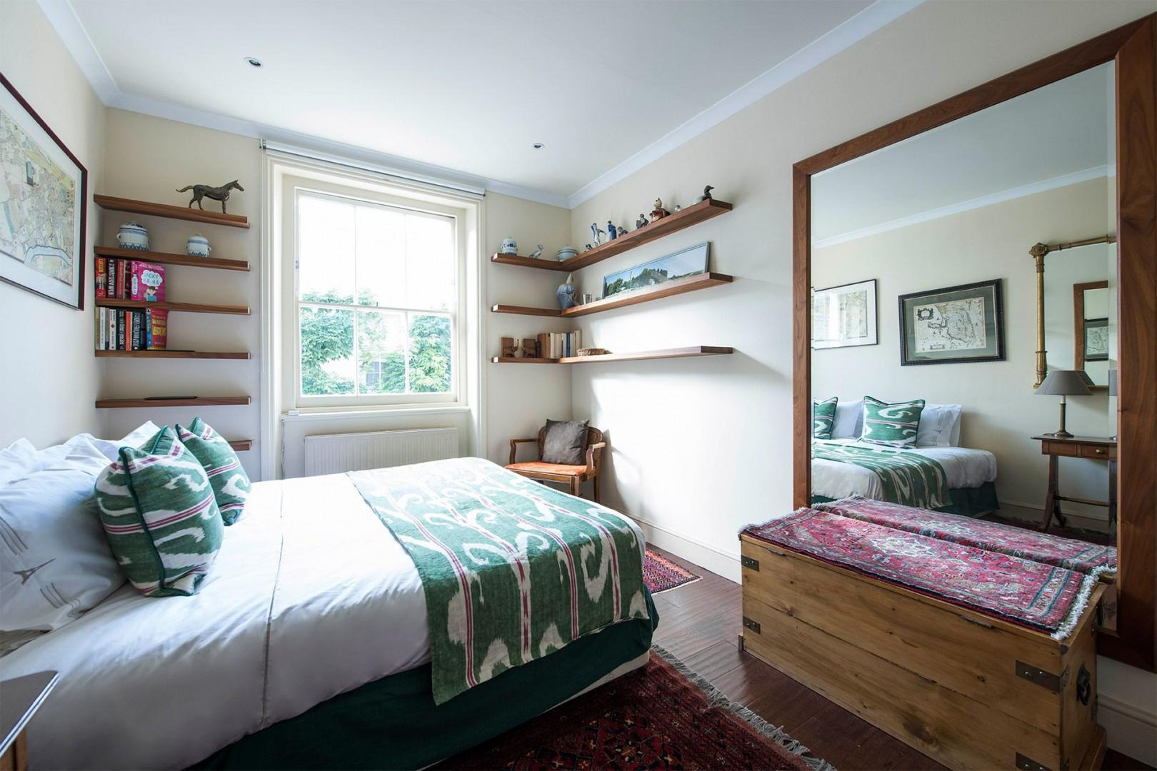 Airy second bedroom