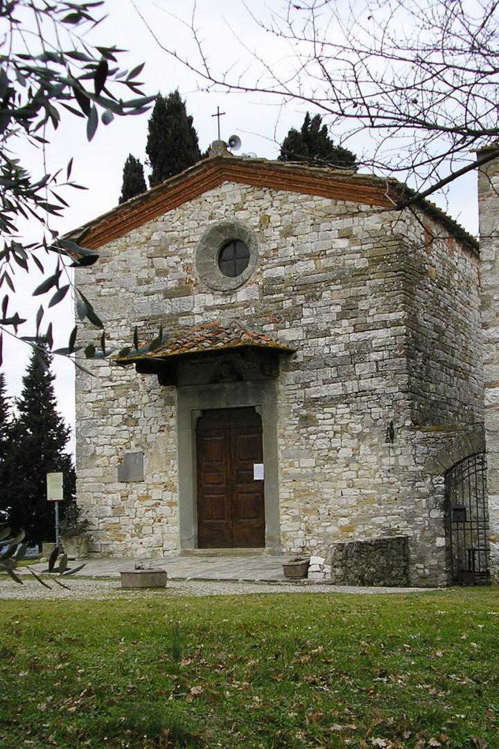 Church of San Piero in Perticaia.