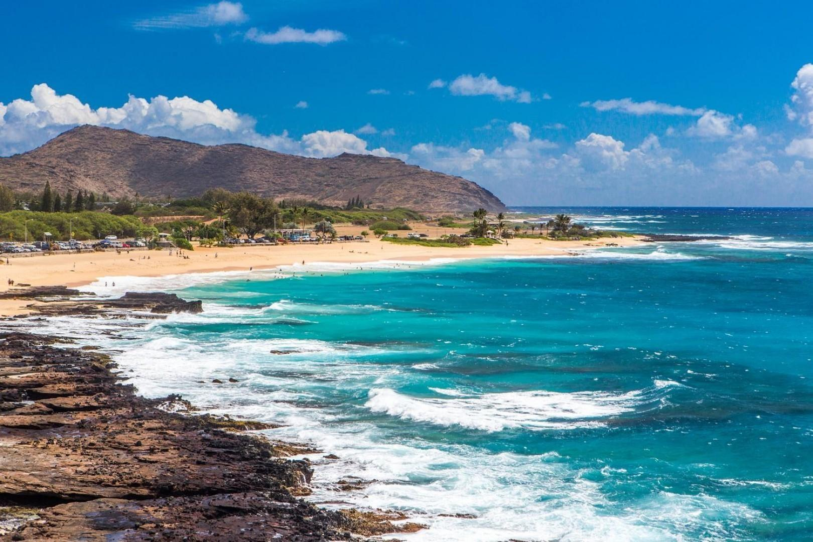 Just a short drive to the famous Sandy Beach!