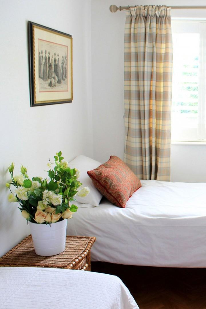 Two comfortable beds in the second bedroom