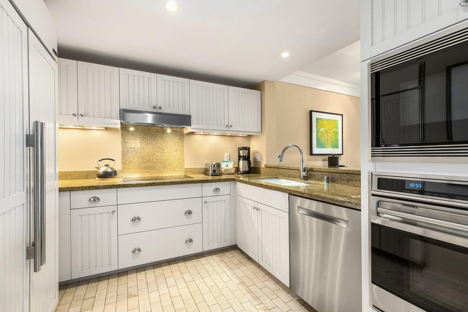 Gourmet Kitchen includes everything you need