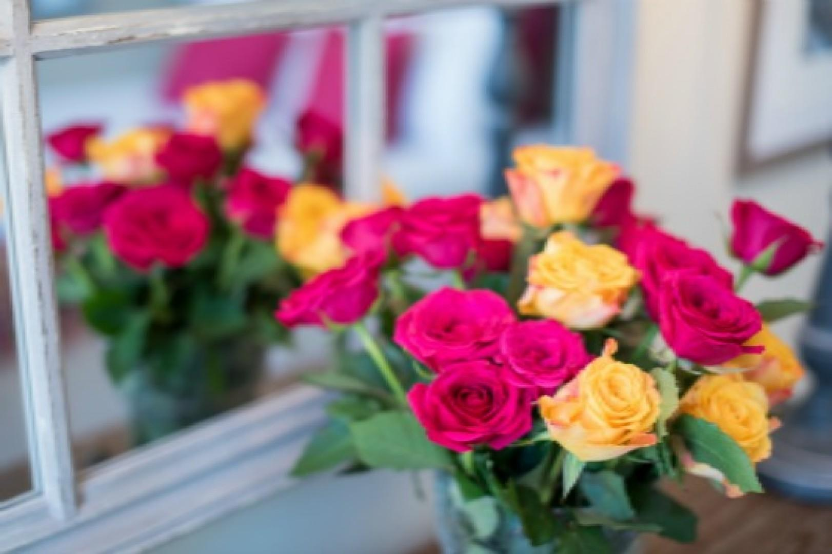 Pick up a bouquet of flowers from shops on Rue Cler.