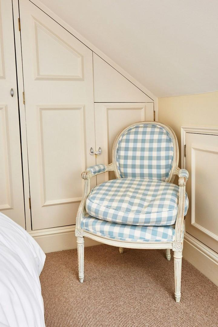 Comfortable armchair in the Fourth bedroom