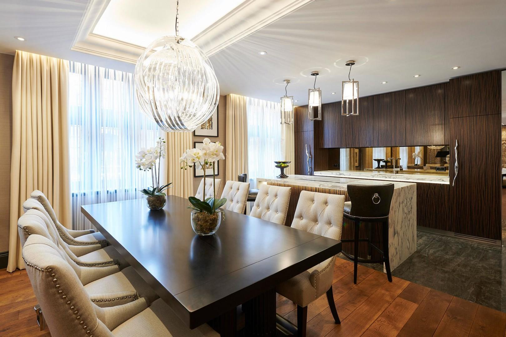 Open-plan kitchen and living quarters, ideal for peaceful respite