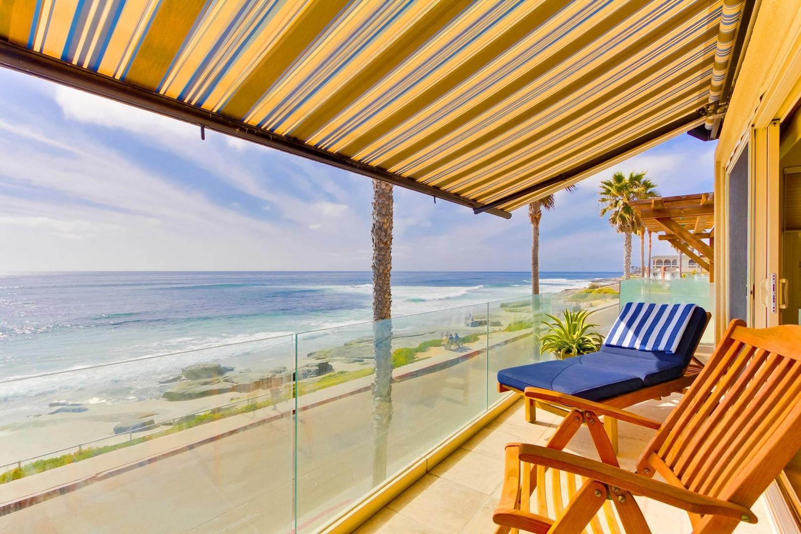 Master ocean view balcony