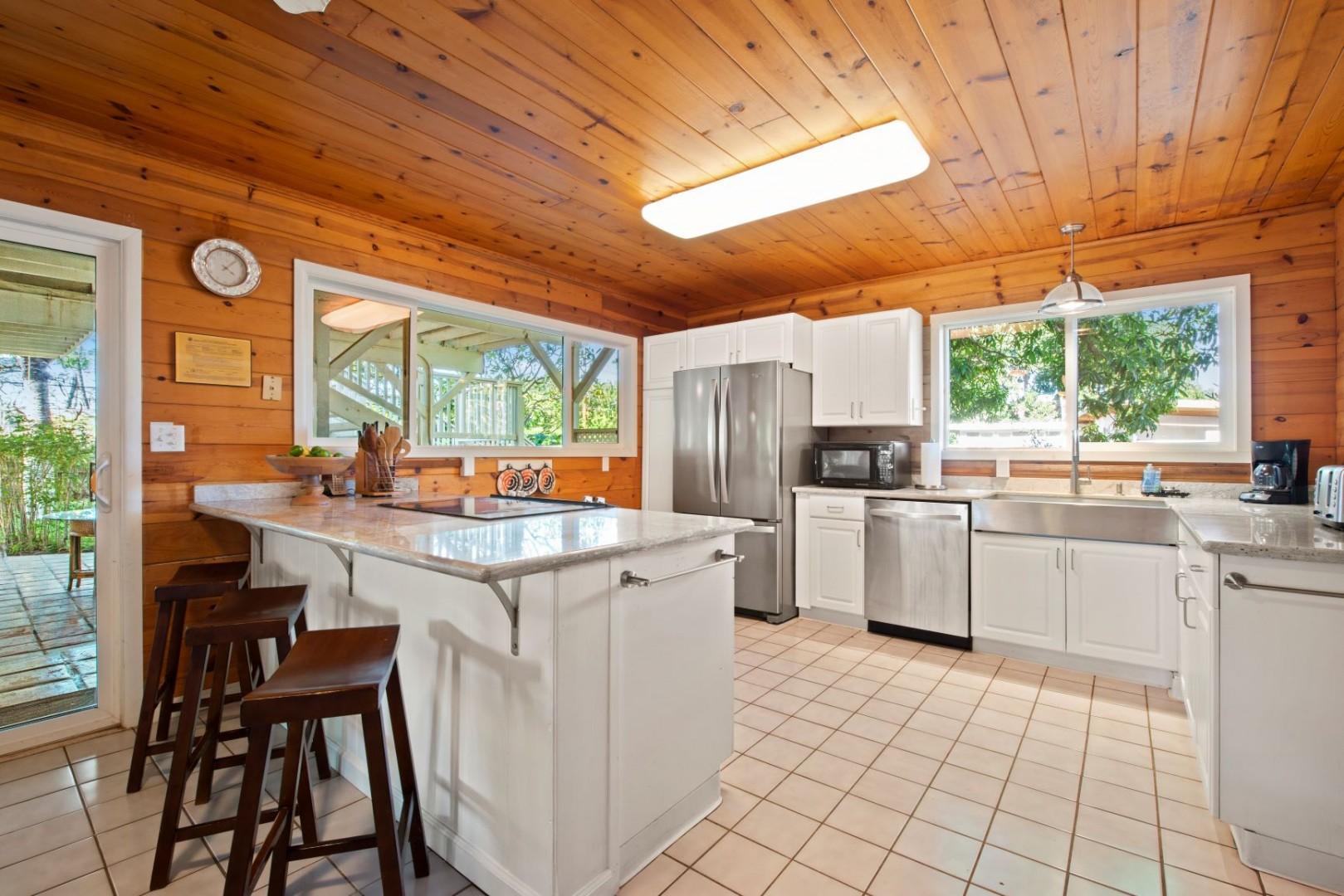 7- spacious kitchen