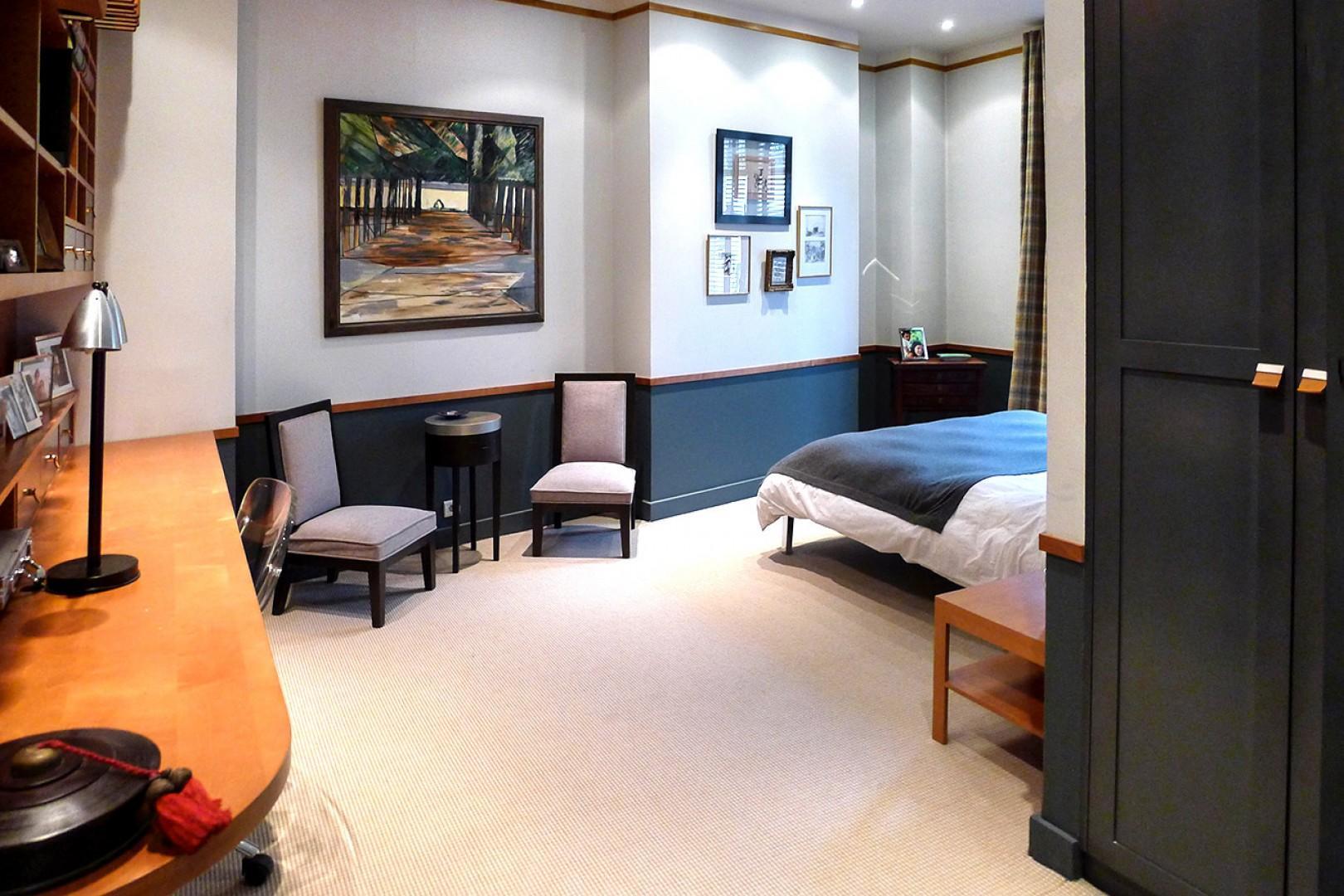 Bedroom 3 has a comfortable bed and en suite bathroom.