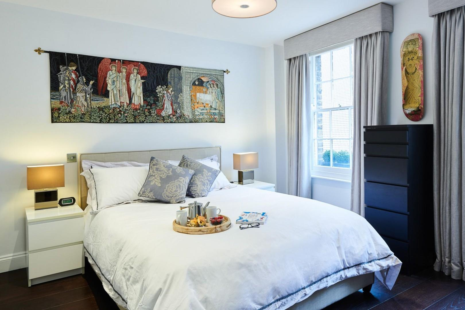 Beautifully designed first bedroom