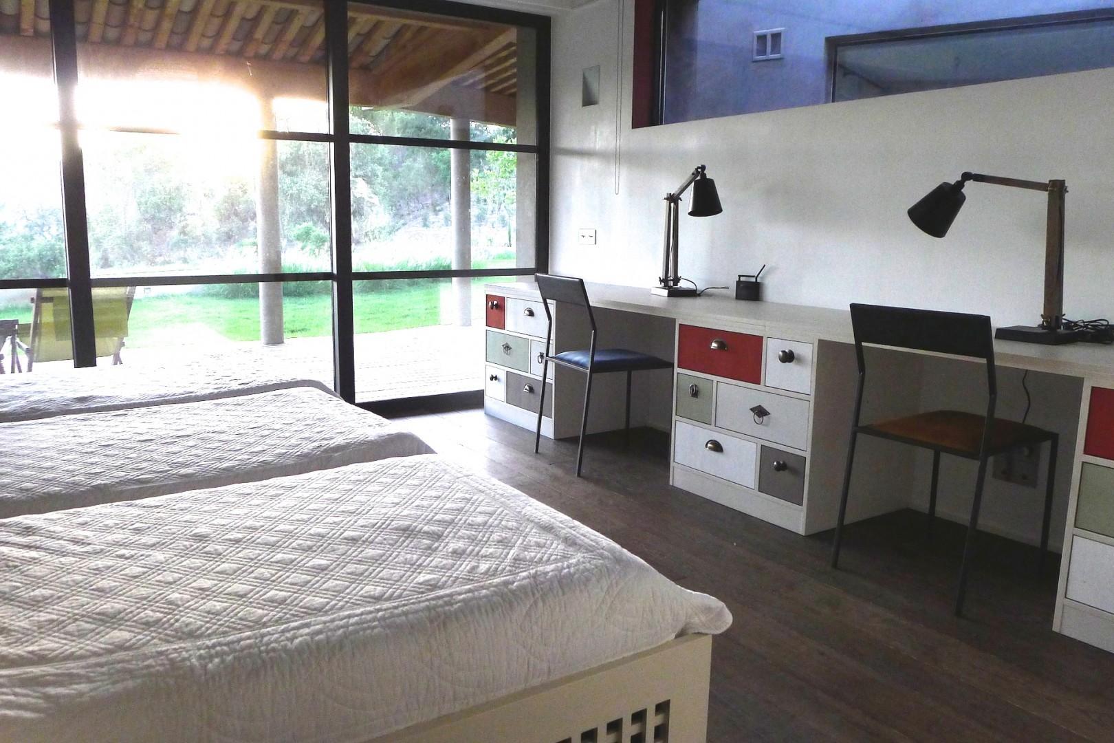 Each bedroom feels like its own peaceful retreat