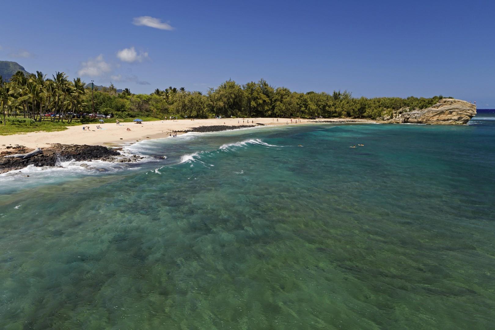 shipwreck beach aerial