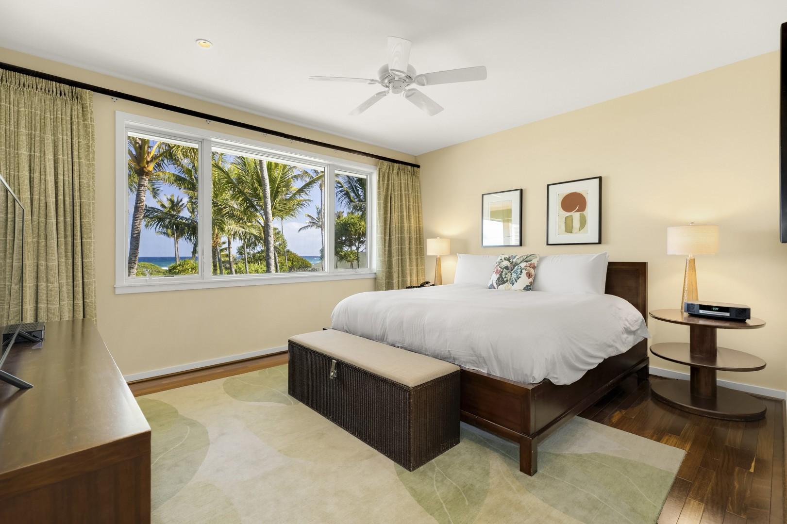 Master Bedroom with gorgeous views