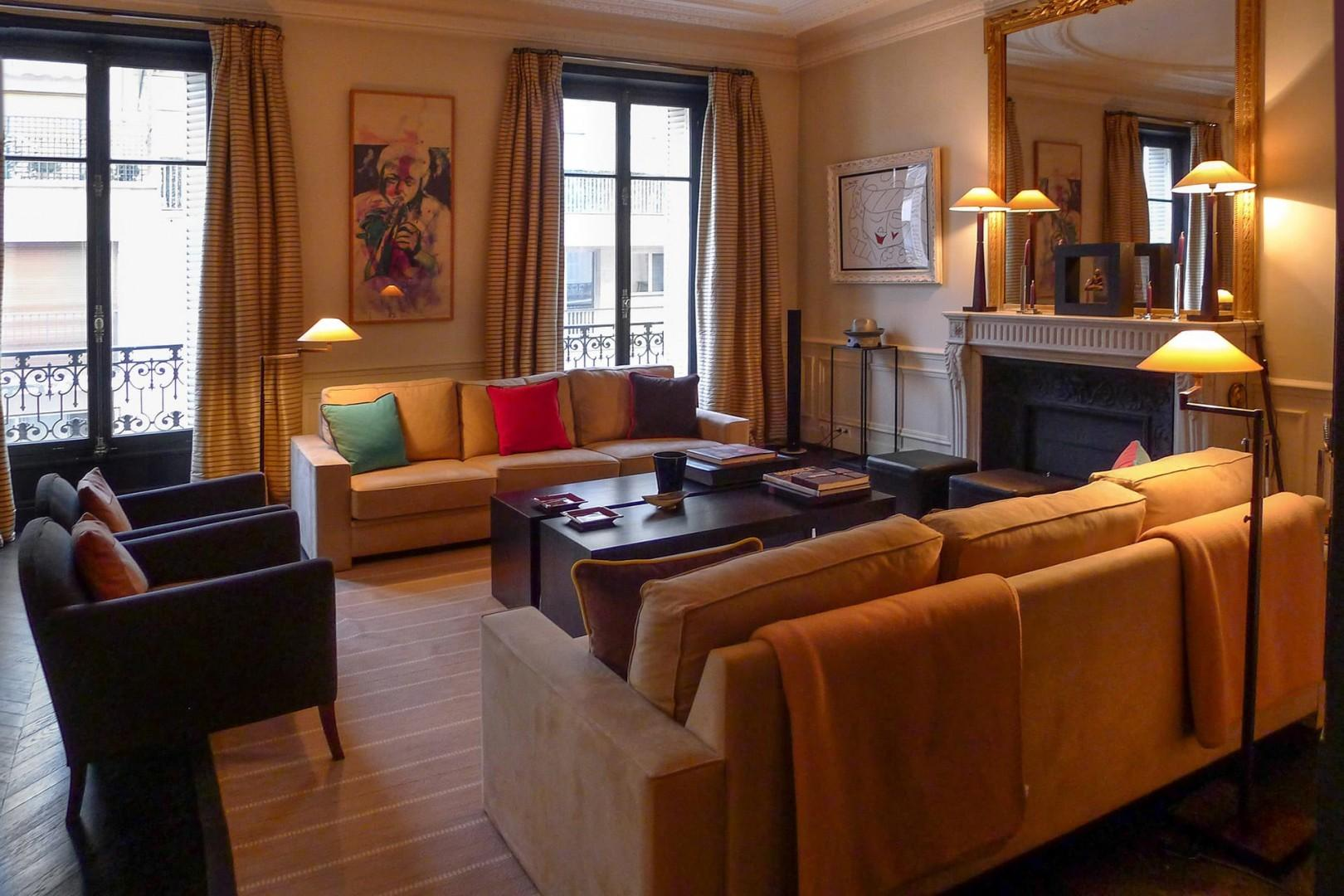 Spend peaceful evenings in this comfortable home in Paris.