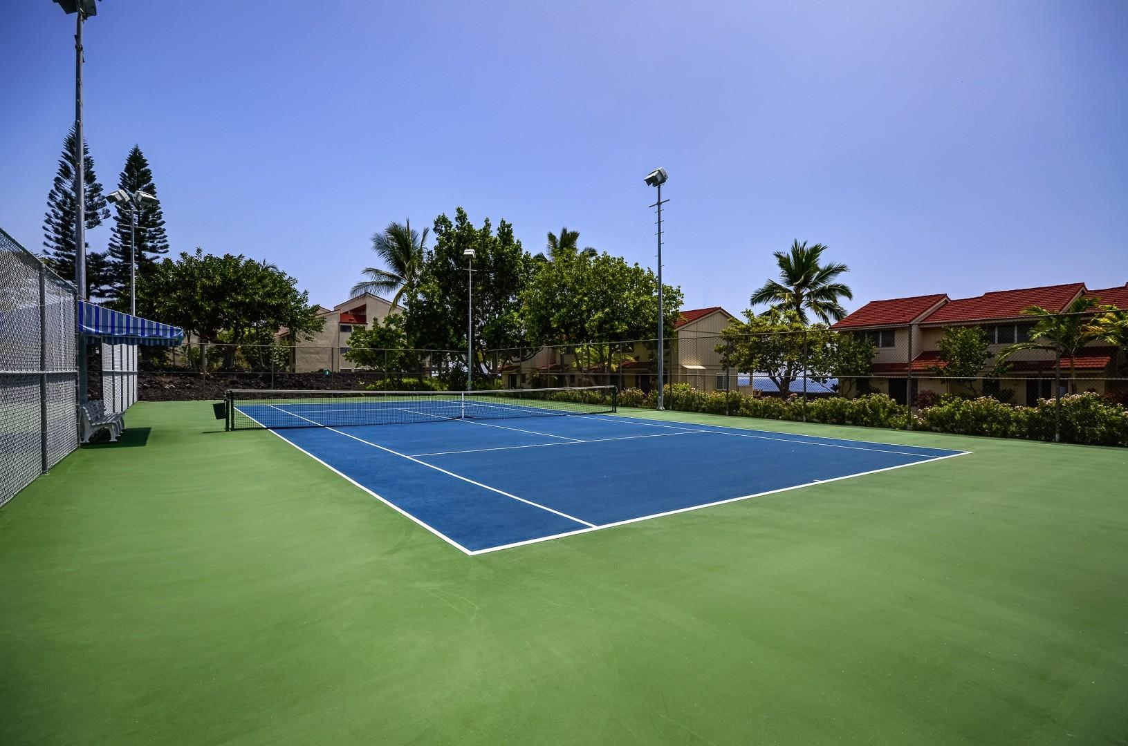 Surf & Racquet Tennis Courts!