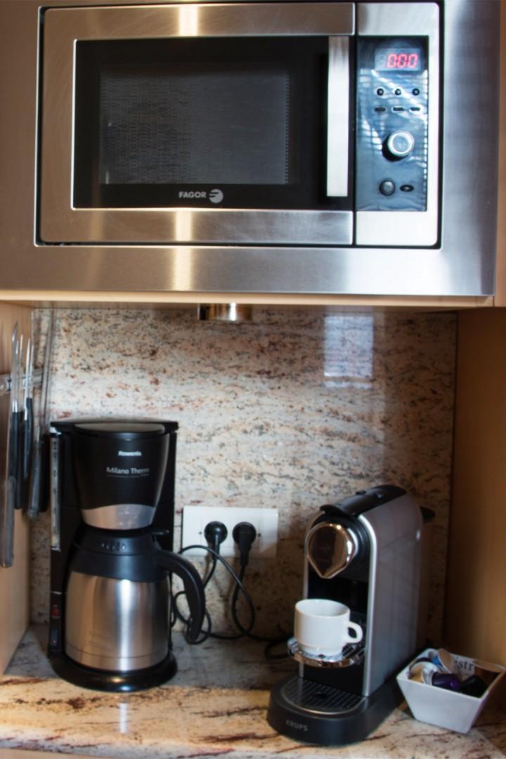 You'll love our Nespresso machine!