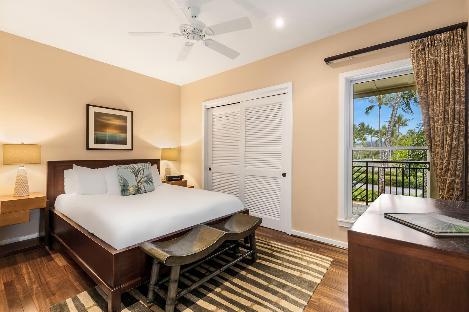 Villa 206: Guest bedroom 1