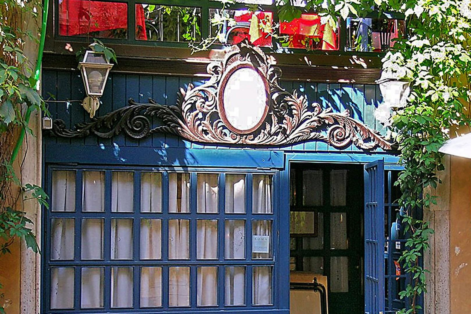 Dine indoors or out on Via Margutta, just a few steps away; famous for its beauty and antique shops.
