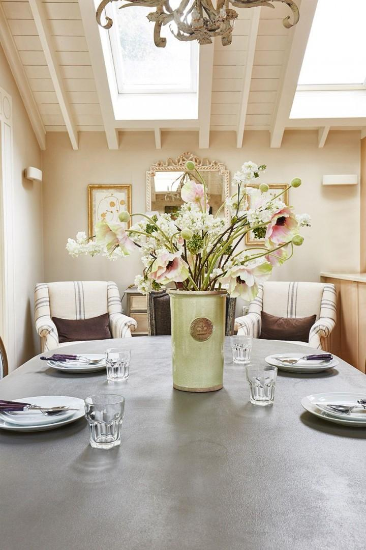 Bring home some colorful flowers to decorate your table!