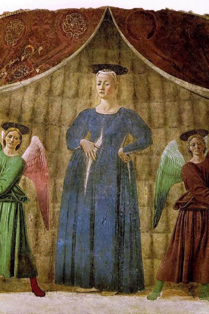 The Madonna del Parto by Renaissance master Piero della Francesca is