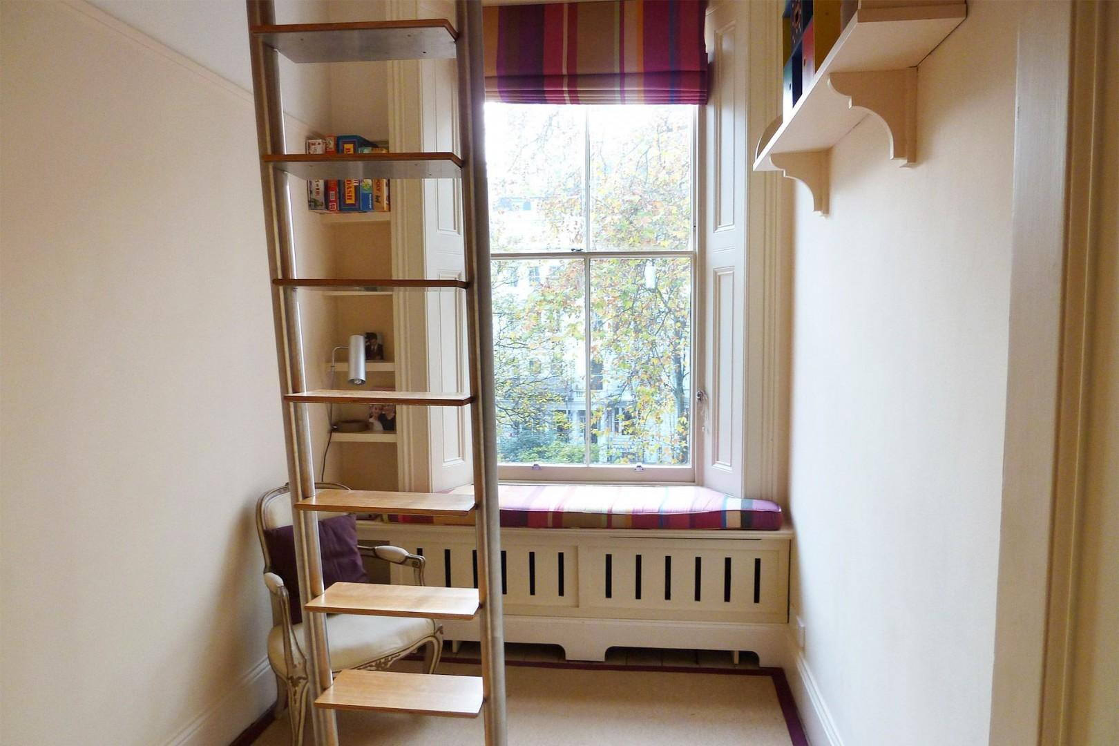 Fourth bedroom with a loft bed