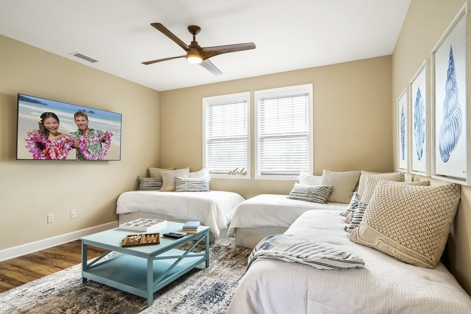 Upstairs living / sleeping area
