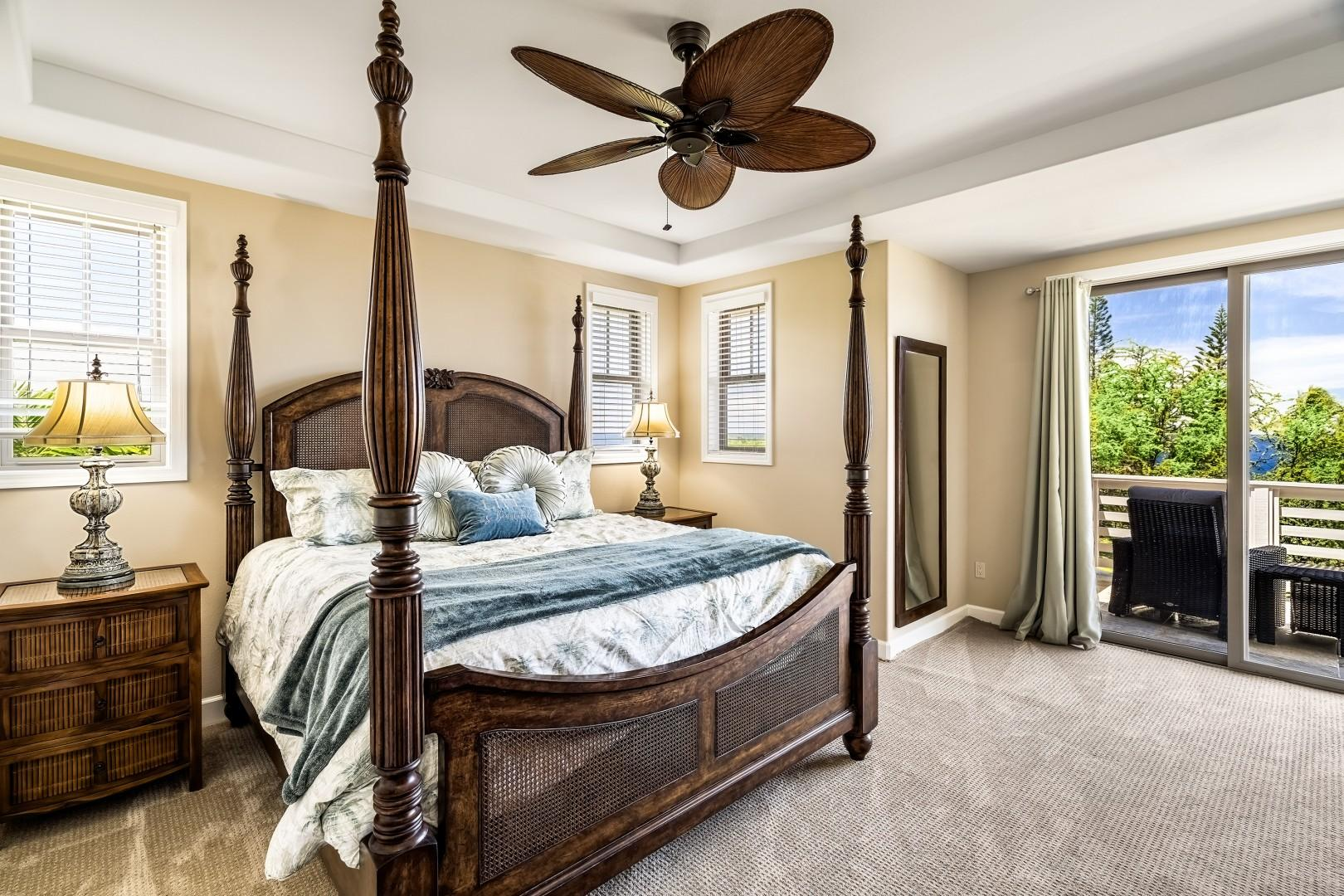 Master bedroom fit for royalty!