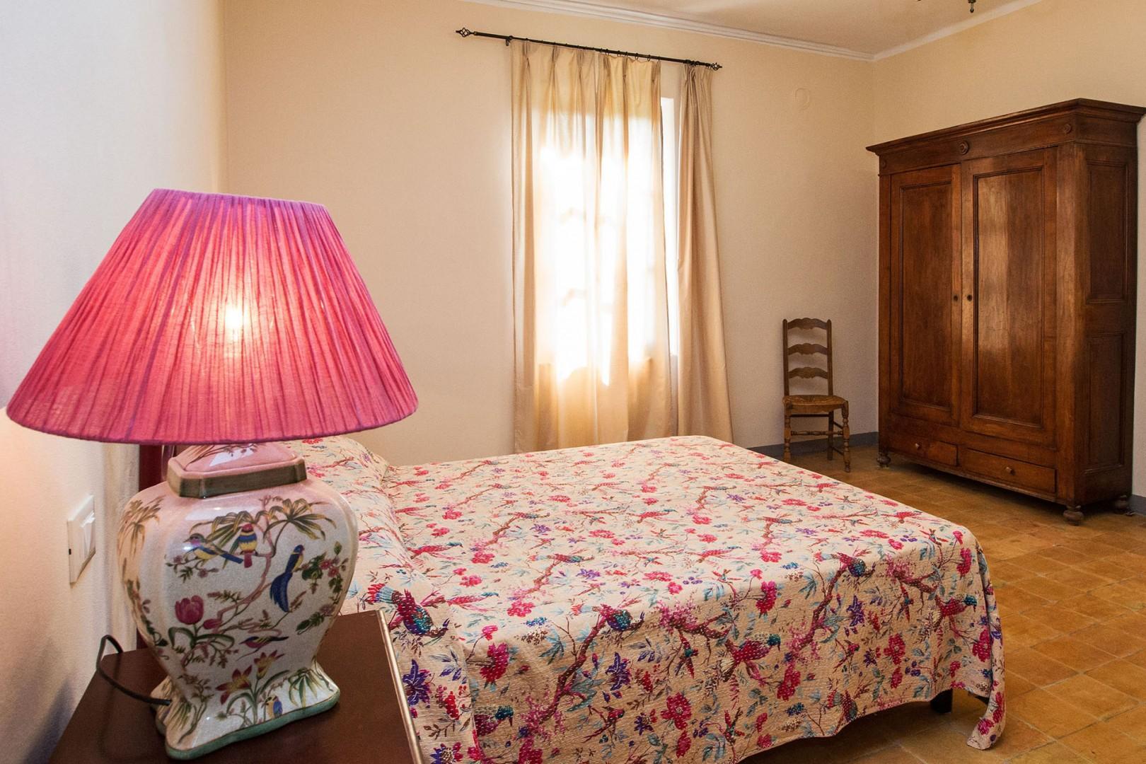 Bedroom 3 has an en suite bath with whirlpool tub.
