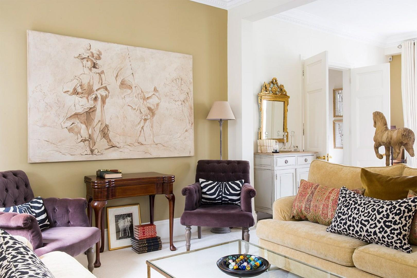 Spend leisurely evenings in this luxurious Kensington home