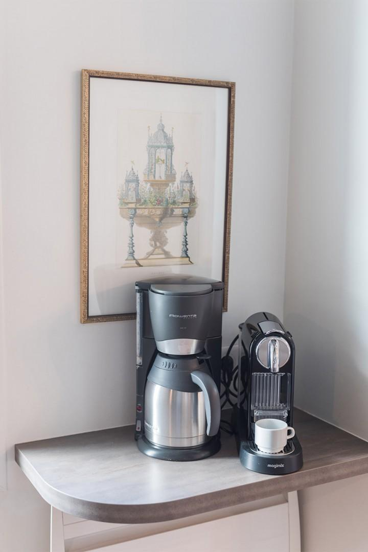 Start your morning with coffee at home!