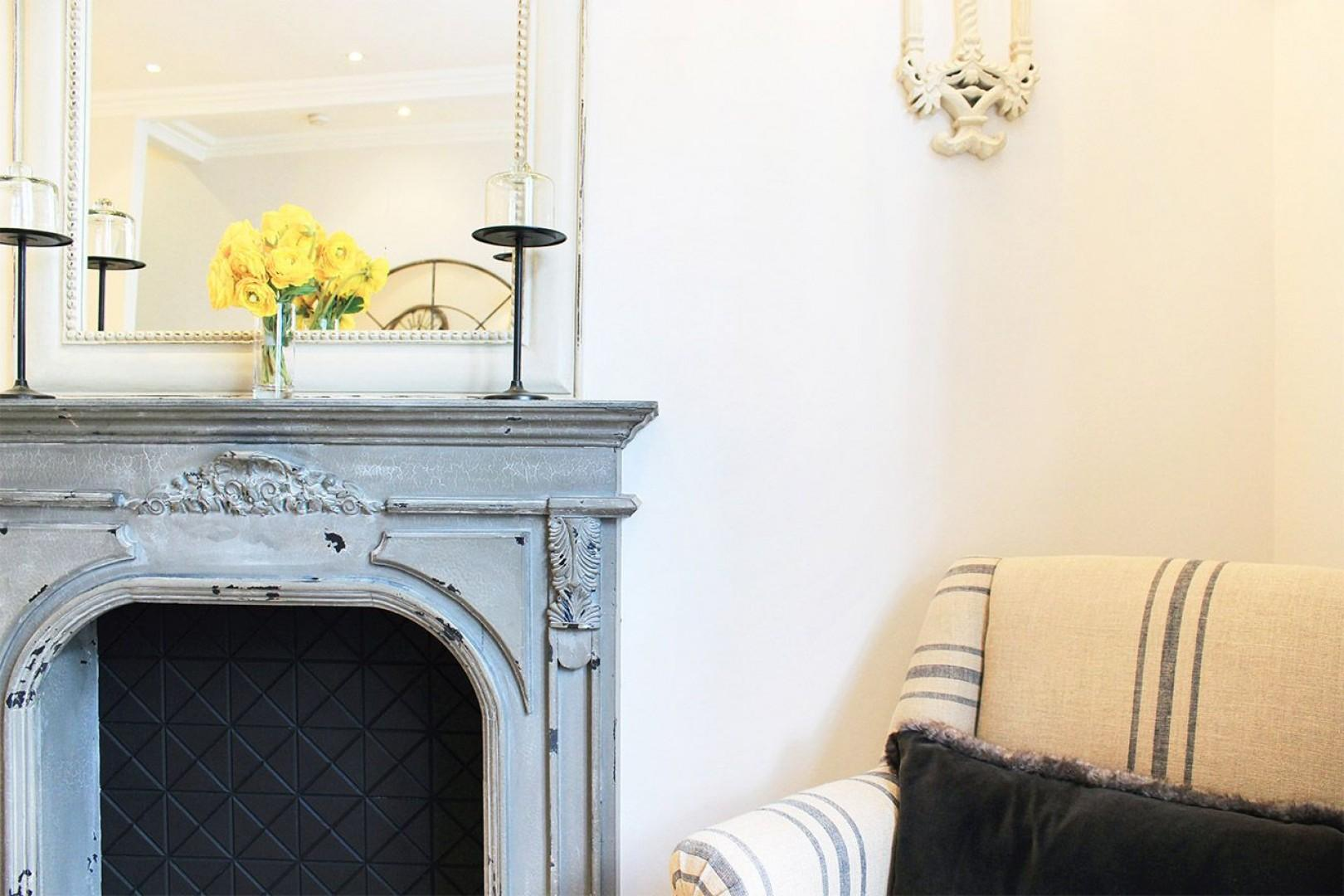 Relax after a long day exploring London in this comfortable seating area