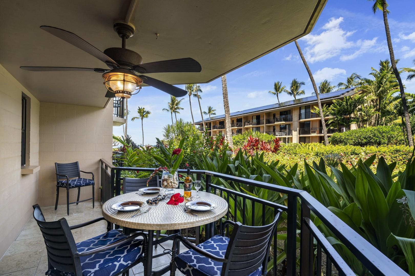 Kona Makai 2103 offers a picturesque backdrop to your Big Island Vacation!
