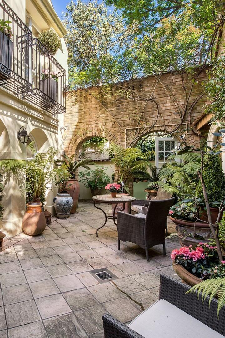 Lovely large patio is perfect for dining al fresco