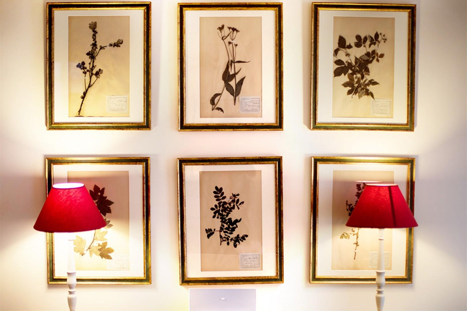 Decorative touches add an elegant flair to the apartment.