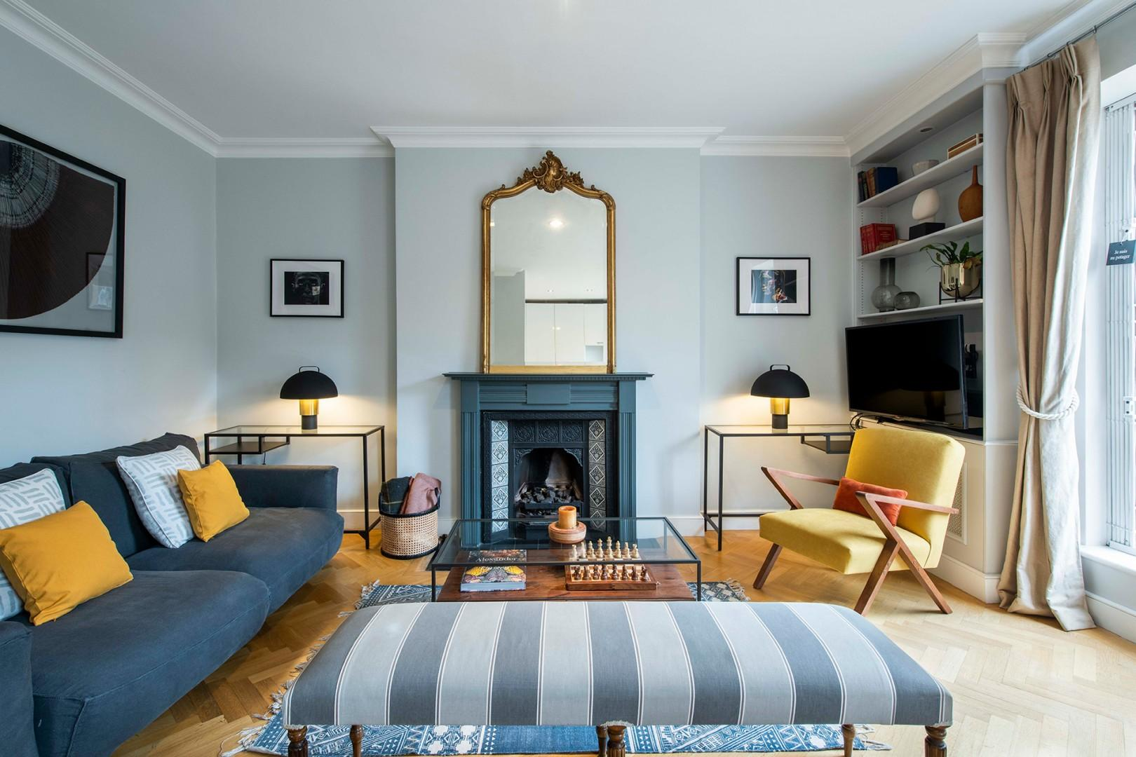 Classic English architecture meets contemporary style
