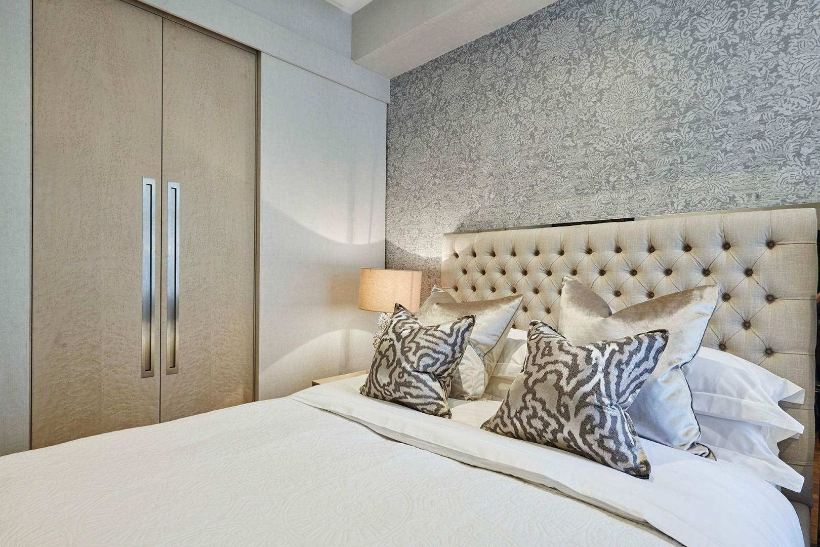Walk-in closet in the second bedroom offers plentiful storage